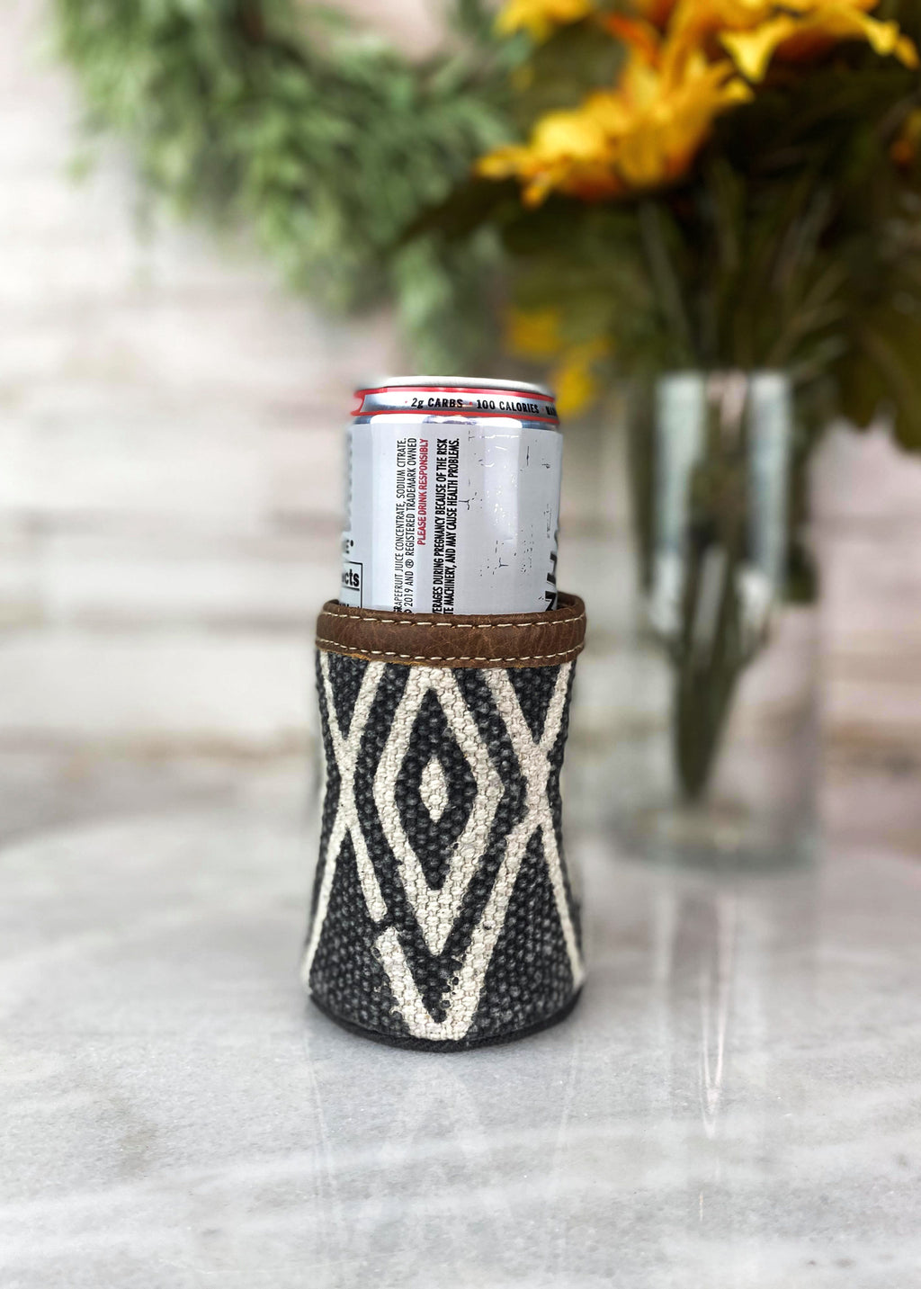 Aztec Canvas Can Cooler
