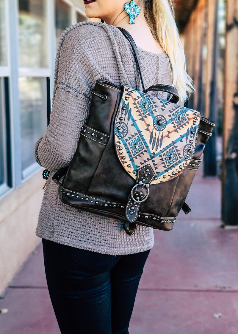 Coffee Dream Catcher Backpack