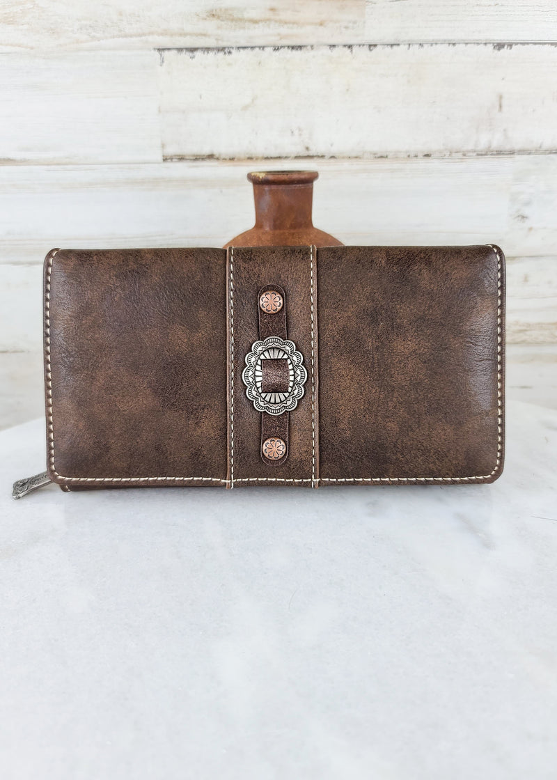 Coffee Concho Wallet