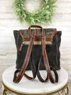 cowhide pattern myra backpack