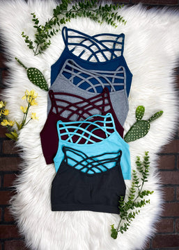 Criss Cross Bralette (2 for $15)