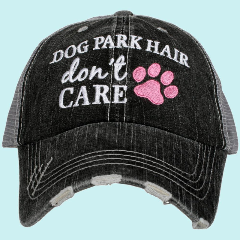 Dog Park Hair Trucker Cap
