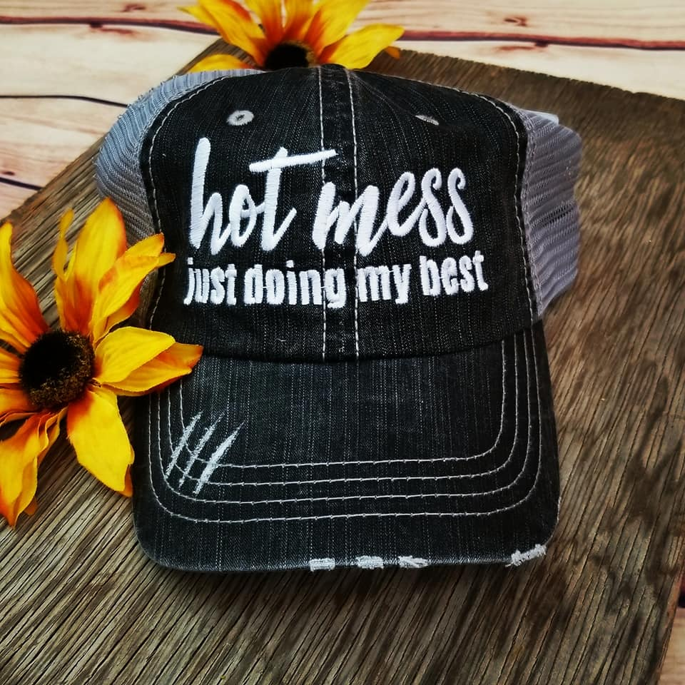 Hot Mess Trucker Cap