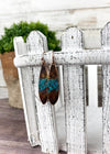 Patina Copper Earrings