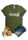Army Green Proverbs 3:5 Short Sleeve Graphic Tee