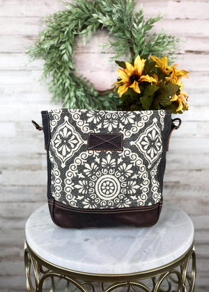 Vintage Pattern Crossbody Handbag