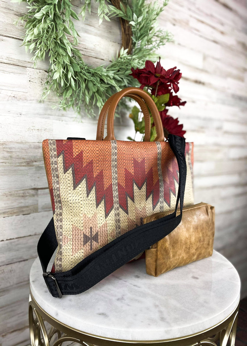 Warm Aztec Laptop Bag