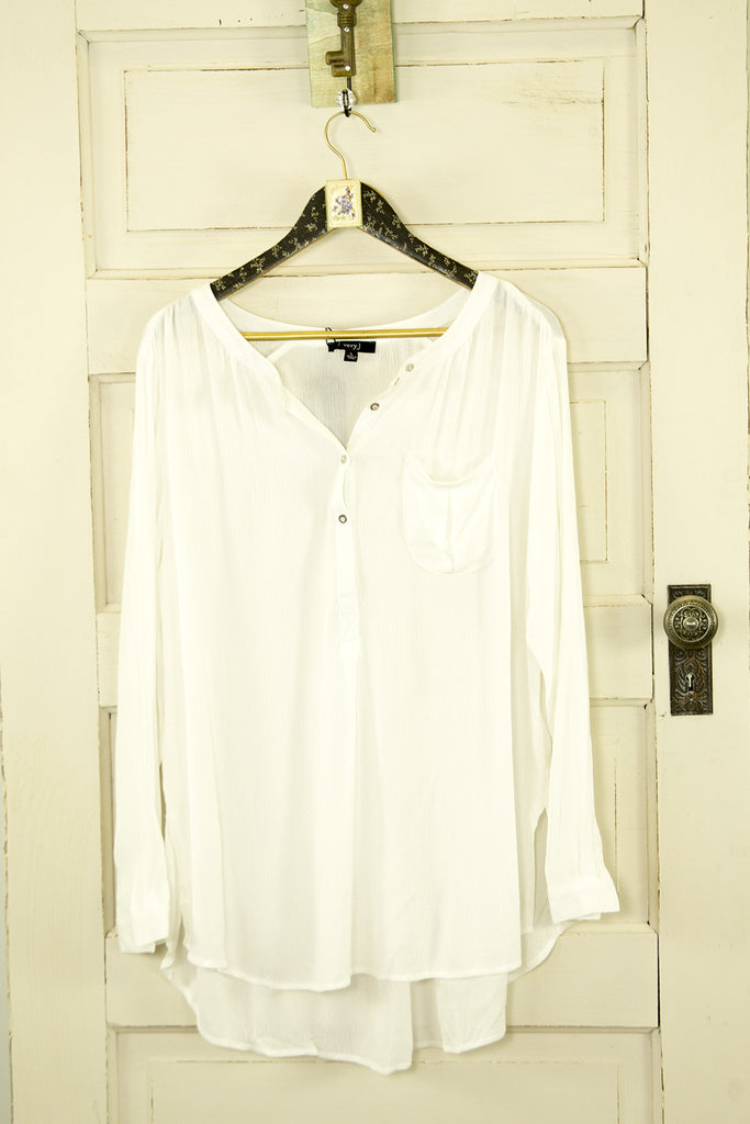 Long Sleeve Linen Tunic