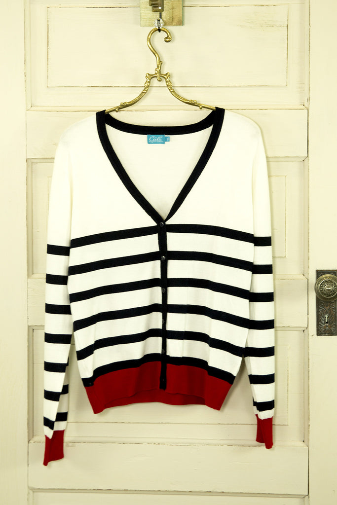Red White and Blue Cardigan - Plus Size