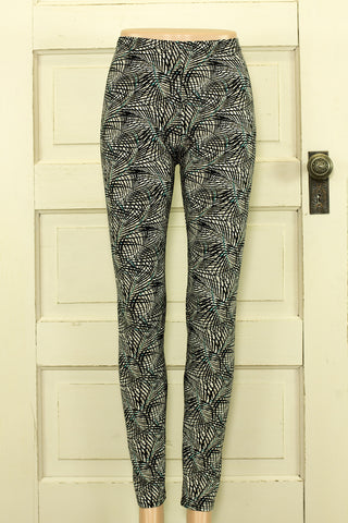 Hypnotic Printed Microfiber Leggings