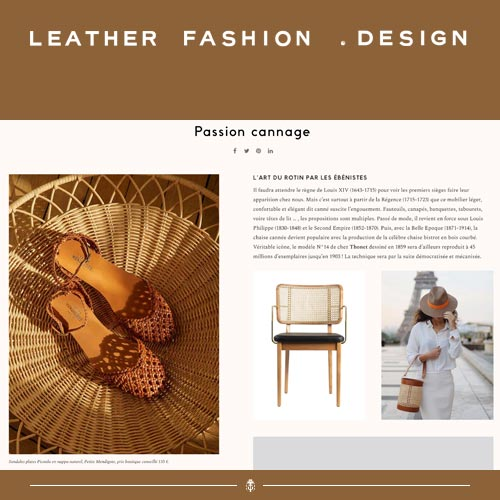 Leather Fashion .Design