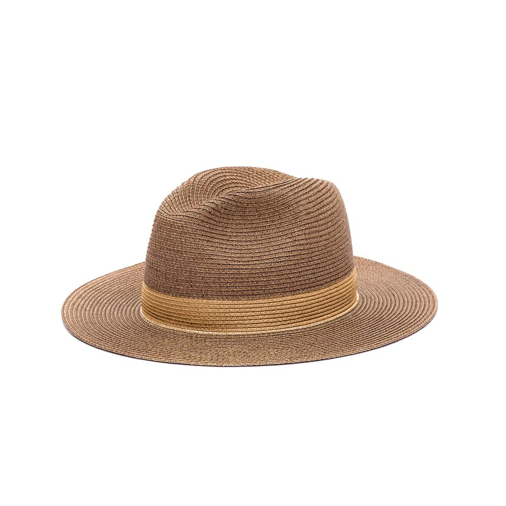 Chapeau Portofino Marron/Naturel