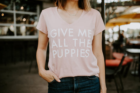 GIVE ME ALL THE PUPPIES