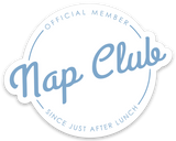 Nap Club Sticker