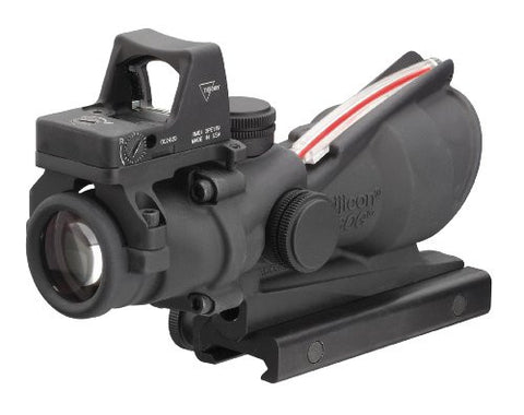 Trijicon ACOG 4x32 Red Chevron BAC, RMR, TA-51 Mount
