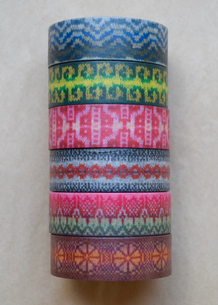 KNITSONIK Knitters Washi Tape Lucky Dip!