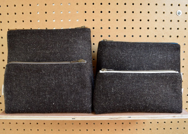 Woollenflower + DoaS Hebridean Tweed Pouch
