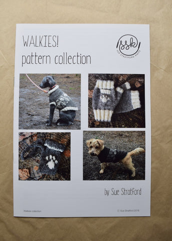 Walkies Dog Coat & Accessories pattern collection