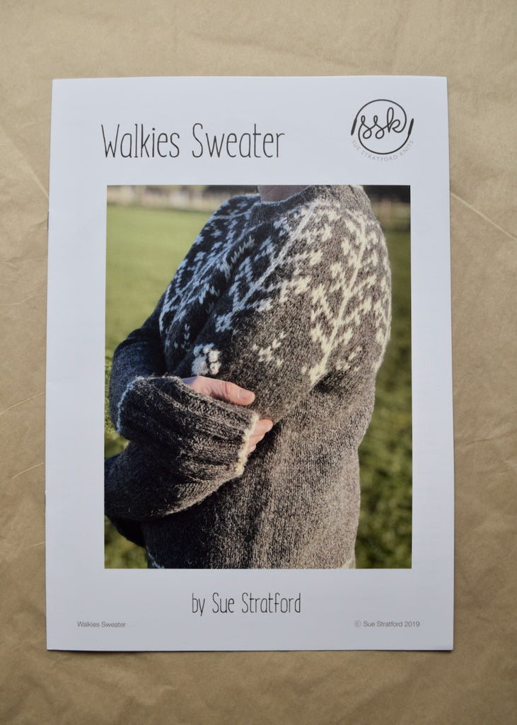 Walkies Sweater knitting pattern