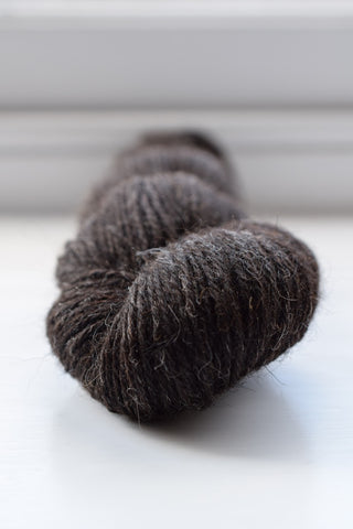 DK weight, 75% Hebridean/25% Zwartbles yarn, 19th July 2017 clip