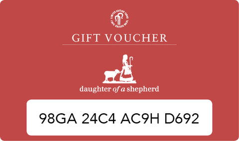 Daughter of a Shepherd Gift Voucher