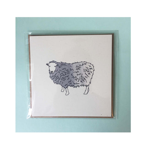 Individual British Sheep Breed notecard