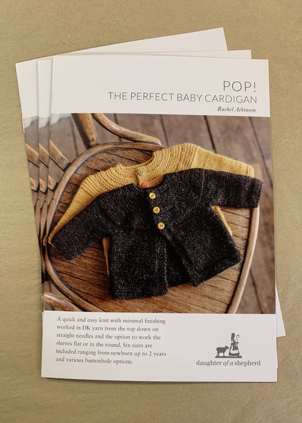 POP! Baby Cardigan pattern