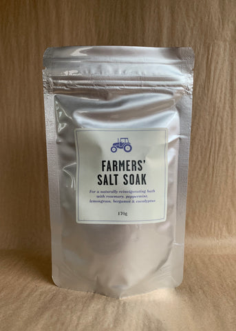FARMERS' Salt Soak