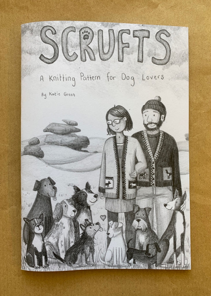 Scrufts Cardigan knitting pattern booklet