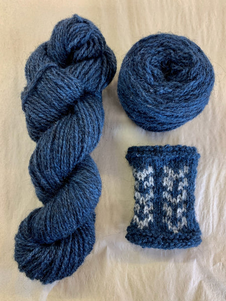 Woollenflower Ram Jam Worsted in Quink