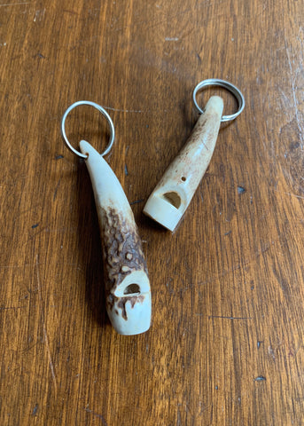 Stag Antler Whistle