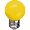 FOCO LED 1W E26 P45 AMARILLO - LUMIKON