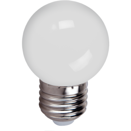 FOCO LED 1W E26 P45 BLANCO - LUMIKON
