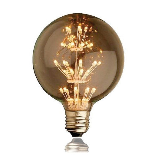 Foco Led Edison G95 2w Decorativo Vintage Retro - LUMIKON