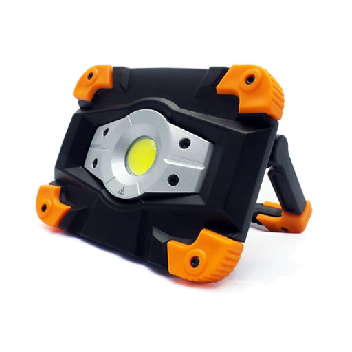 REFLECTOR LED 10W RECARGABLE EMERGENCIAS 6500K - LUMIKON