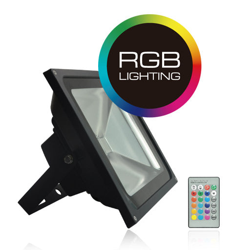 REFLECTOR LUZ LED RGB 30W IP65 - LUMIKON