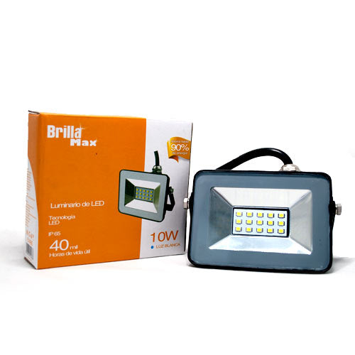 REFLECTOR PISO BRILLAMAX LED 10W 40,000 HRS - LUMIKON