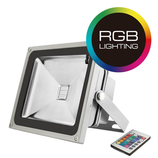 REFLECTOR LUZ LED RGB 20W IP65 - LUMIKON