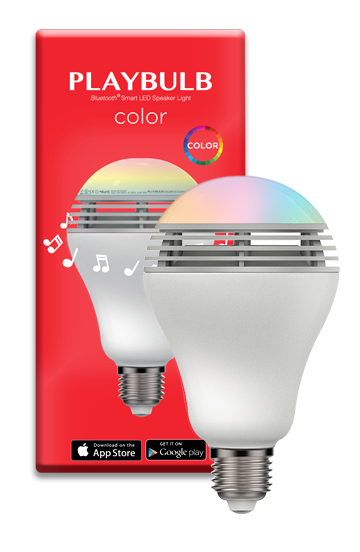 MIPOW PLAYBULB COLOR LED SPEAKER - LUMIKON