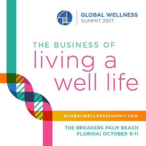 A look ahead to the 2017 Global Wellness Summit, Oct. 9-11