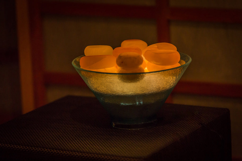 Special interest-free financing offer for Himalayan Salt Stone Massage