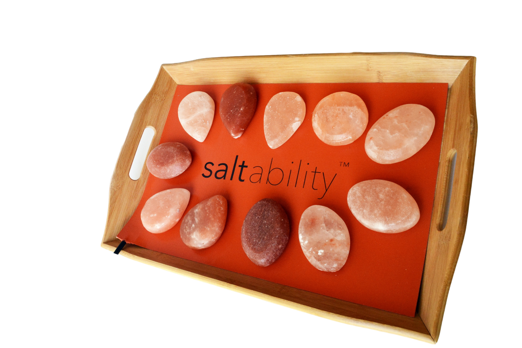 Saltability Unveils New Bamboo Warming Tray for Himalayan Salt Stone Massage