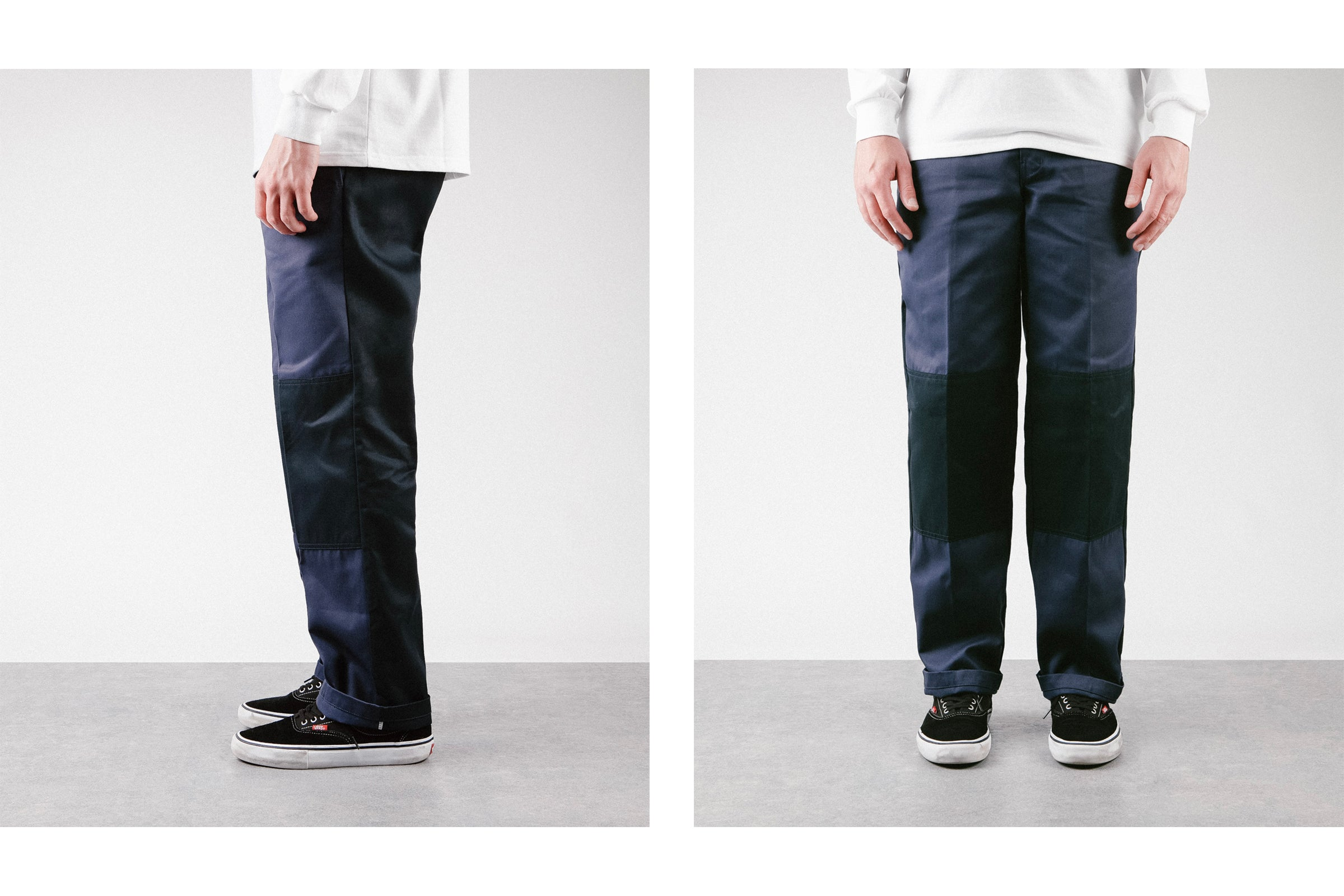Fit Guide : Dickies Ezel Colour Block Work Trousers | Flatspot