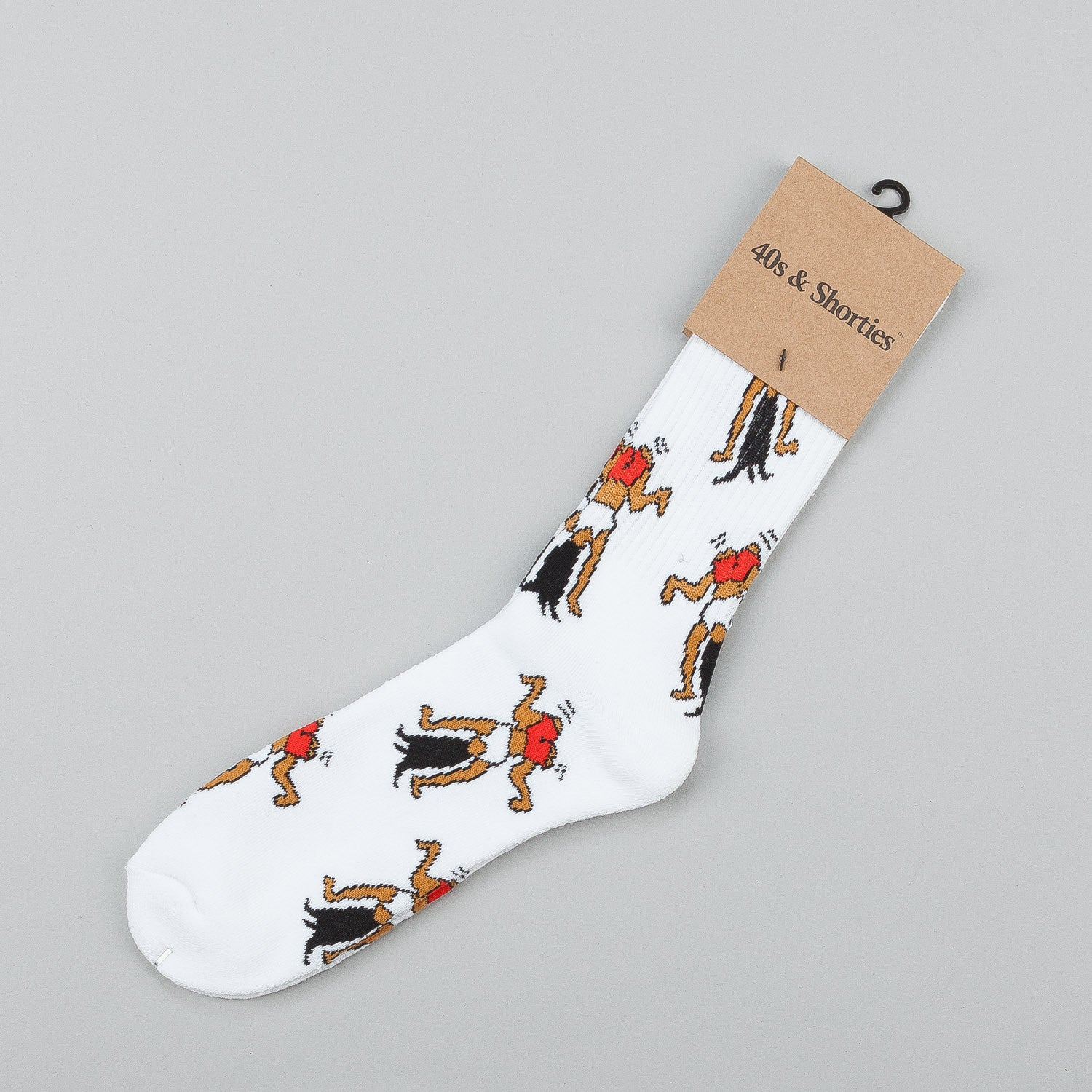 40s & Shorties Original Twerk Socks - White
