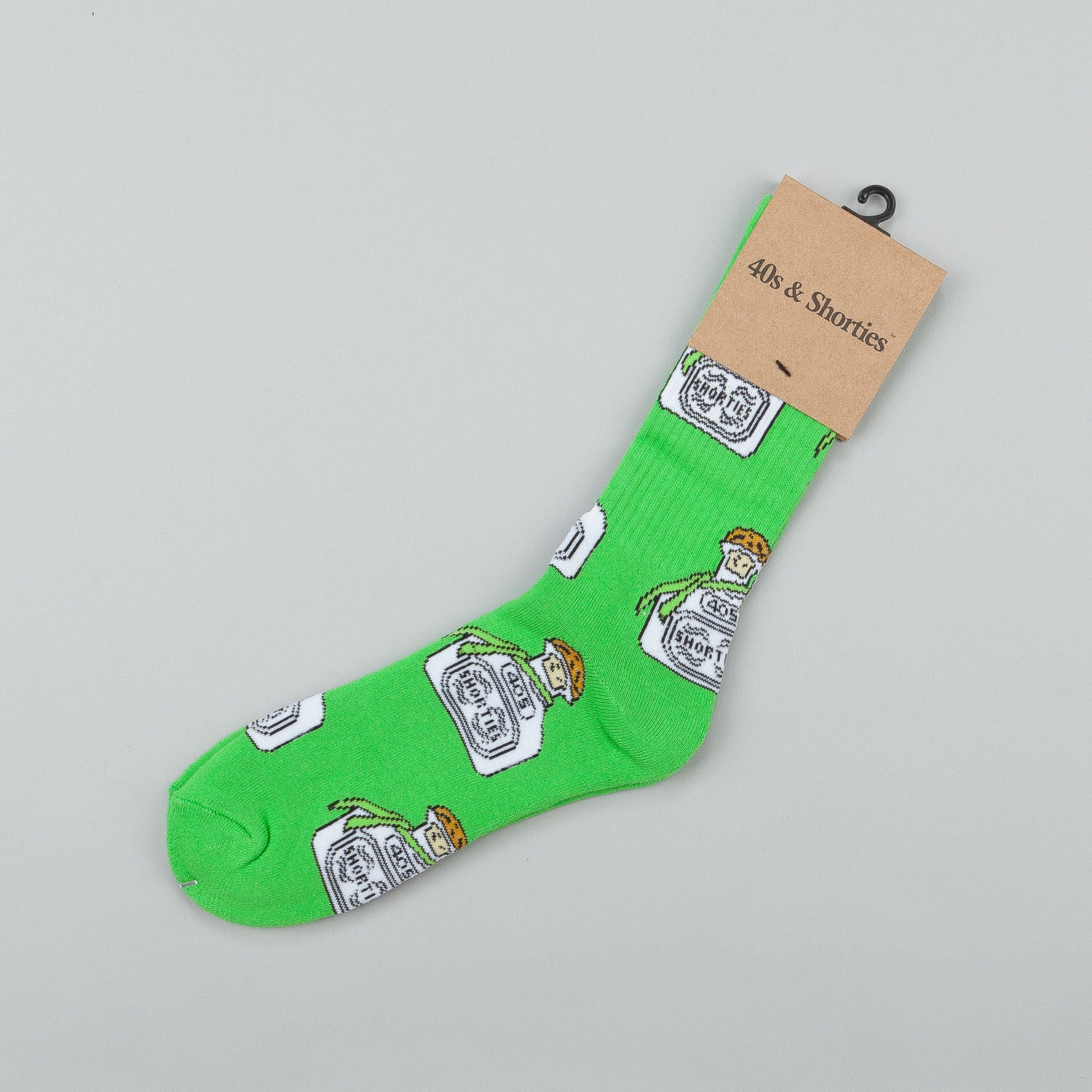 40s & Shorties Tequila Socks - Green
