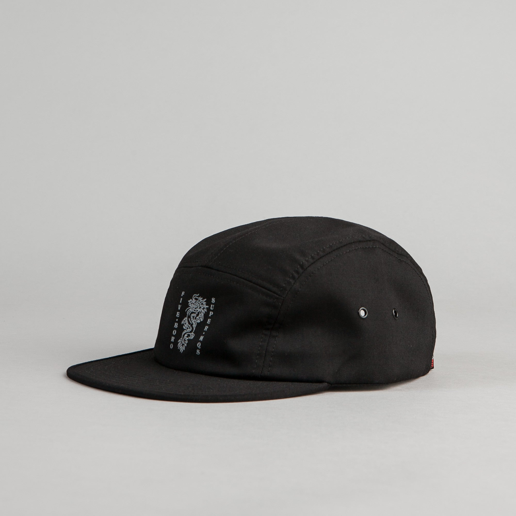 5Boro 5B Dragon 5 Panel Cap - Black