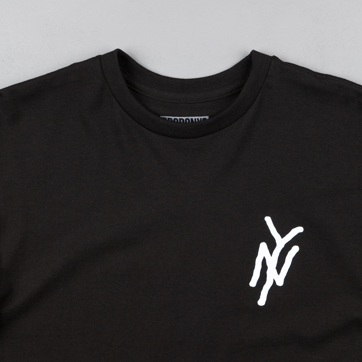 5boro NY Monogram T-Shirt - Black / White