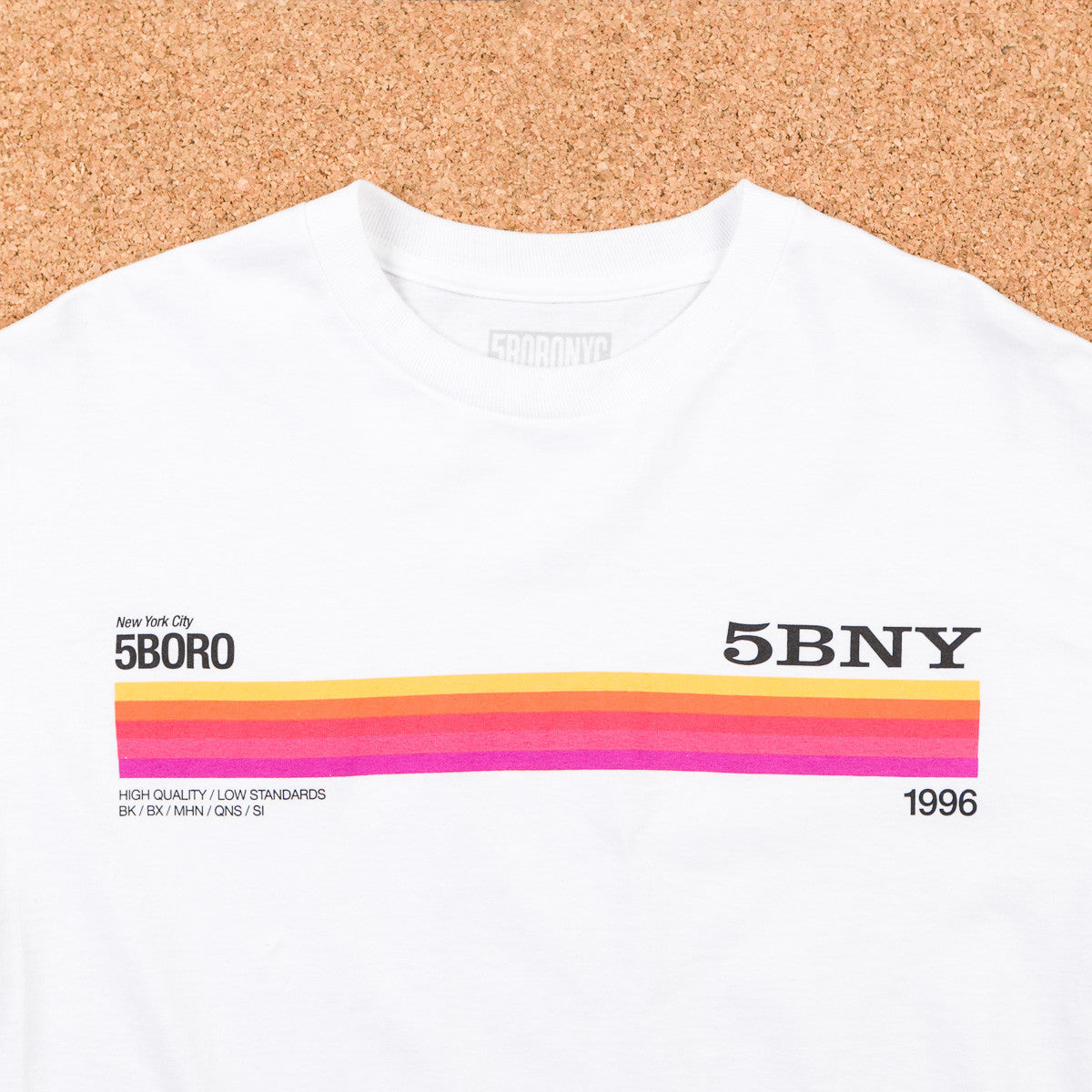 5boro 5B Beta Long Sleeve T-Shirt - White