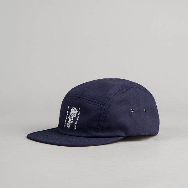 5Boro 5B Dragon 5 Panel Cap - Navy
