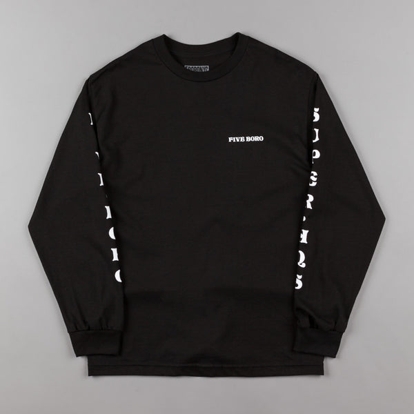 5Boro Dragon Long Sleeve T-Shirt - Black